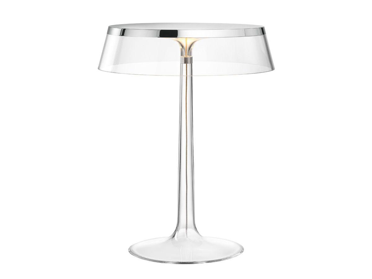 Corona bon jour chrome flos staande lampen for Lampen chrom