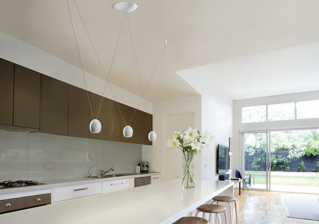 Corona mork egoluce pendelarmatuur for Idee illuminazione soggiorno