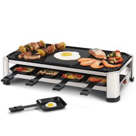 raclette rg2170 grill non stick coating fritel. Black Bedroom Furniture Sets. Home Design Ideas