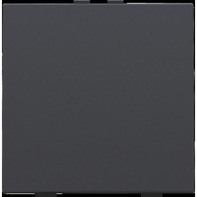 Enkelvoudige drukknop voor Niko Home Control, anthraciet