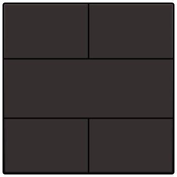 Afwerkingsset voor 4-voudige potentiaalvrije drukknop 24 V, dark brown