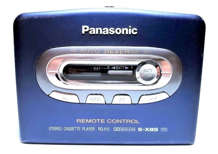 RQ-X15 Walkman (zonder oortjes)