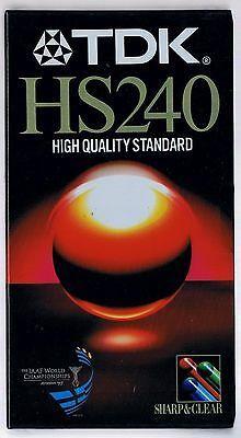 Videoband VHS 240 min