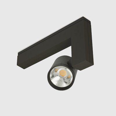 Corona kreon erubo zwart plafondarmaturen for Kreon lampen