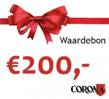 Waardebon €200