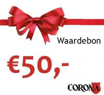 Waardebon €50