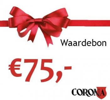 Waardebon €75