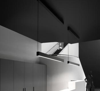 Corona kreon cadre 1500 zwart mat plexiglas for Kreon lampen