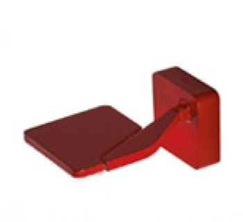 Jackie table pin red