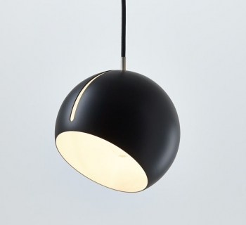 Tilt Globe | zwart-wit