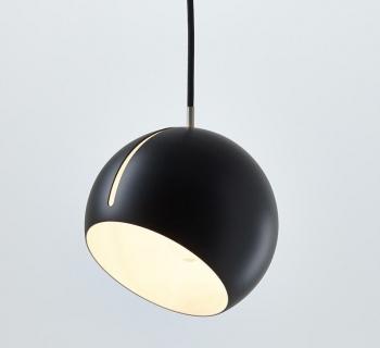 Tilt Globe | zwart-grijs