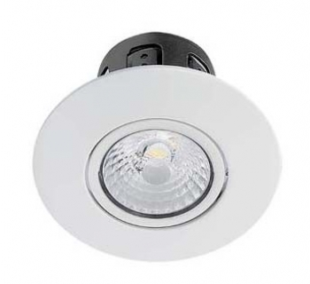 Reflex LED 1 rond wit