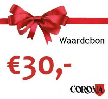 Waardebon €30