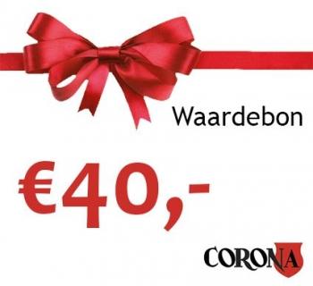 Waardebon €40