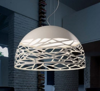Corona kelly so mat wit studio italia design for Verlichting hanglampen design