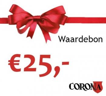 Waardebon €25