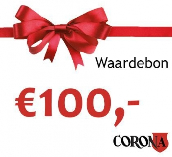 Waardebon €100