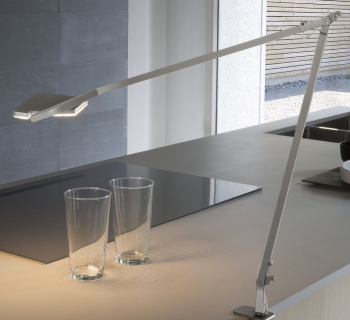 Jackie table clamp titanium