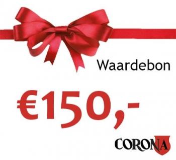 Waardebon €150