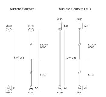 Austere-Solitaire RF White