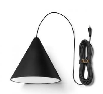 String Light cone black