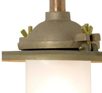 Bracket Light Gunmetal Mat glas