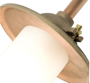 Bracket Light Canted Gunmetal Mat