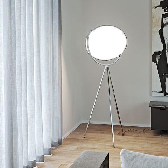 corona superloon white flos staande lampen. Black Bedroom Furniture Sets. Home Design Ideas