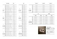 Lithoss Select drukknop matt white
