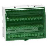 Distributie Linergy DS - schroefverdeelblok 4P - 125A - 48 openingen