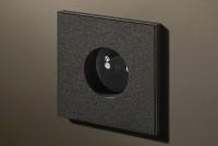 Lithoss Void stopcontact textured black